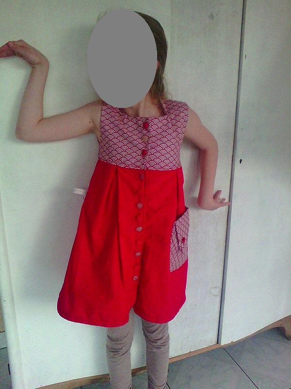 robe rouge 0000
