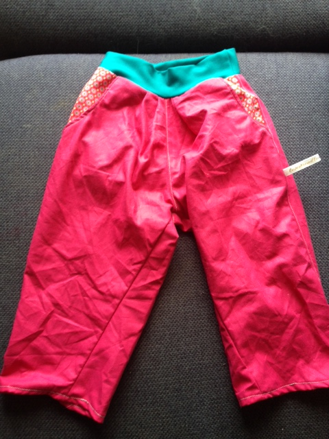 pantalon poches multicolores 1