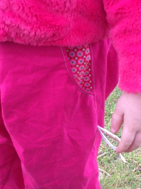 pantalon poches multicolores 13