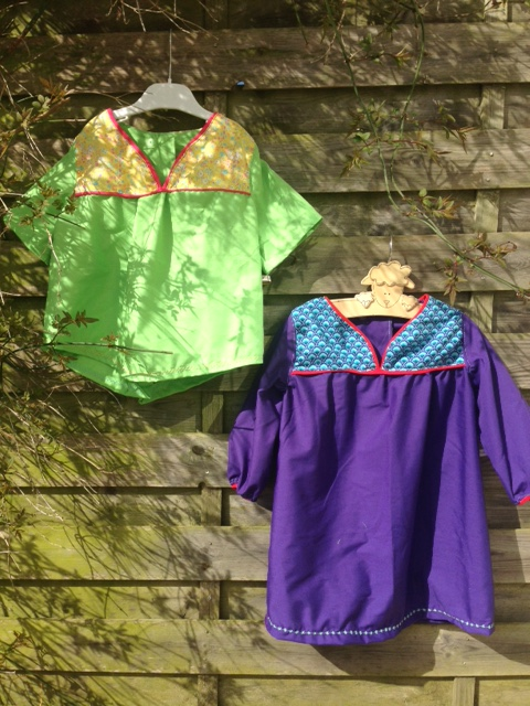 Robe duo 4 ans 1