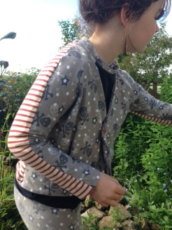 gilet recyclage tee-shirt jersey 22