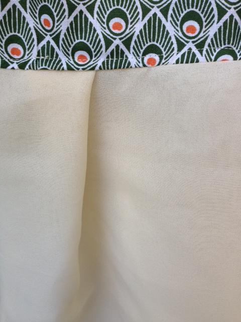 Tissu Paon 9
