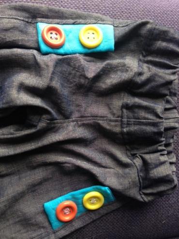 pantalon patte d'eph 16