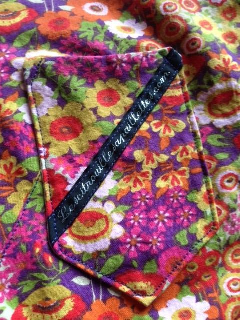 chemise hippie 40