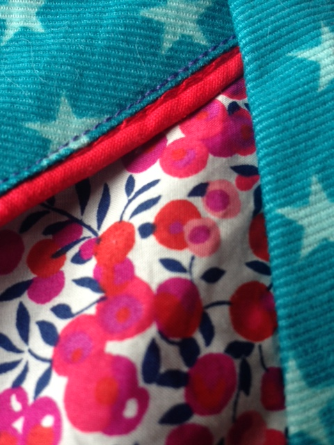 Robe trapèze revisitée 12