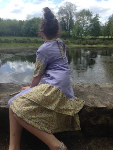 robe fleurie 30