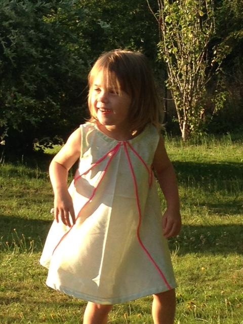Zonneschijn dress 40